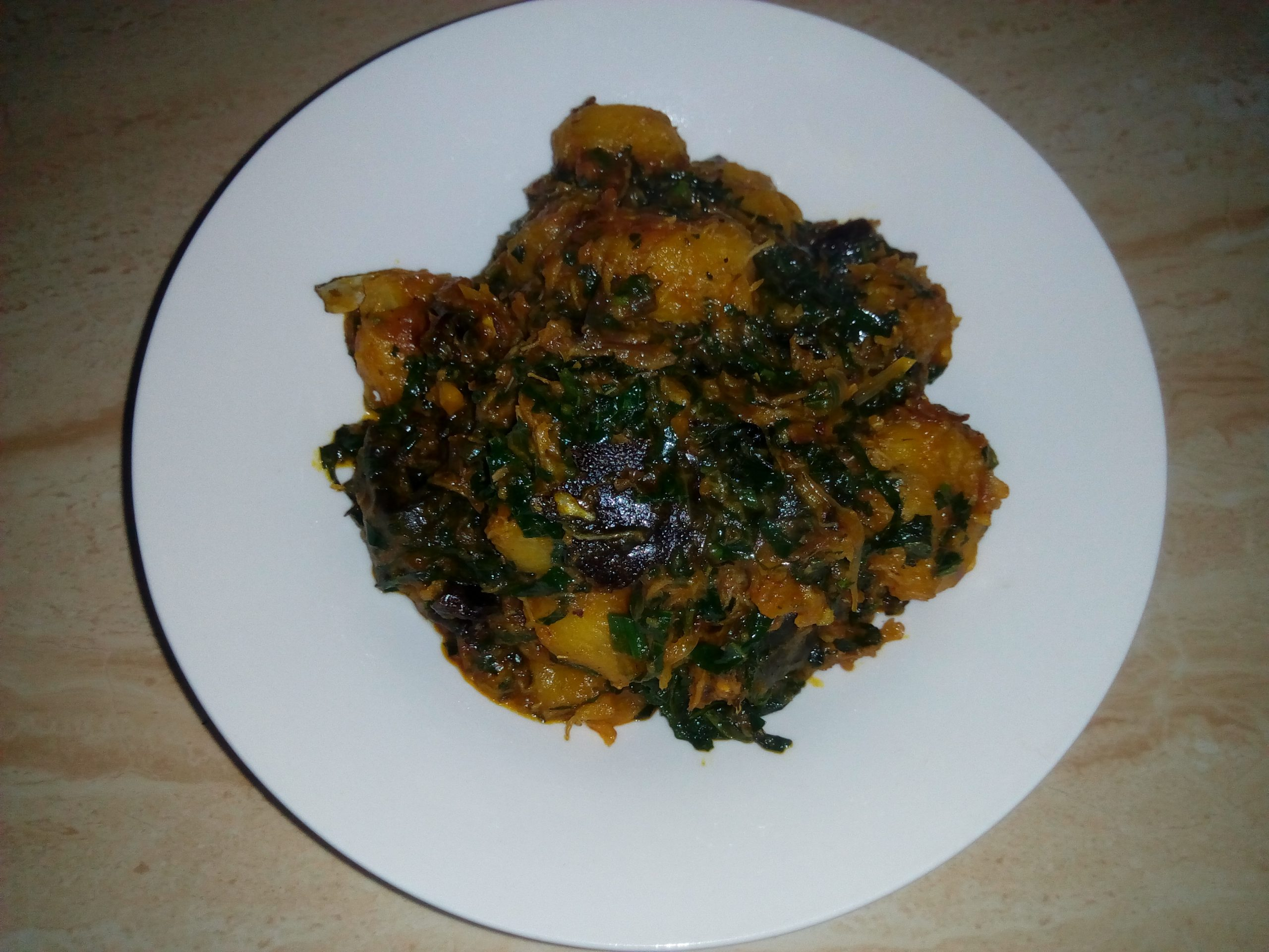 how to cook ripe plantain porridge